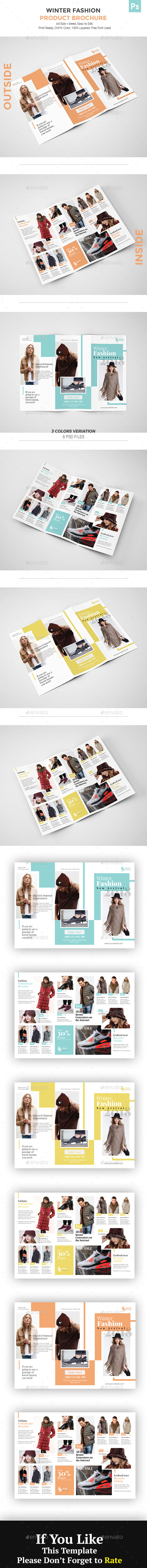 GraphicRiver Fashion Product Brochure 20994687