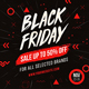 Black Friday Instagram - GraphicRiver Item for Sale