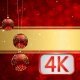 Christmas Baubles Hanging 04 - VideoHive Item for Sale