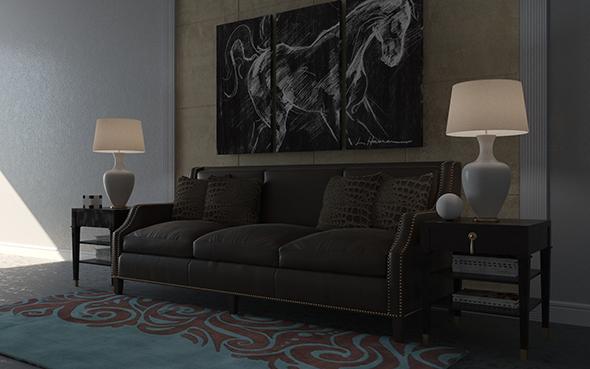 3DOcean Modern living room 20994820
