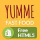 Yumme - Shopify Theme for Pizza, Food, Coffee & Drink Restaurant Bar Cafe Shop Takeaway Delivery