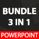 Bundle 3 In 1 Powerpoint Template