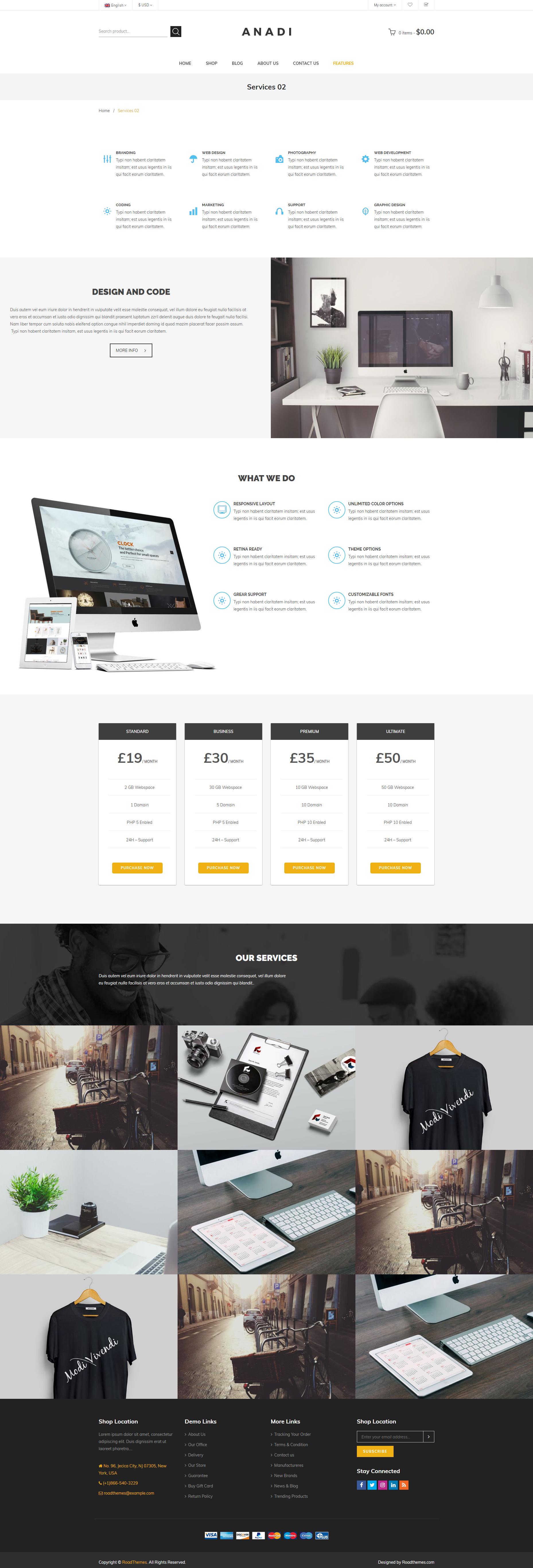 Anadi Woocommerce Furniture Wordpress Theme By Roadthemes Themeforest