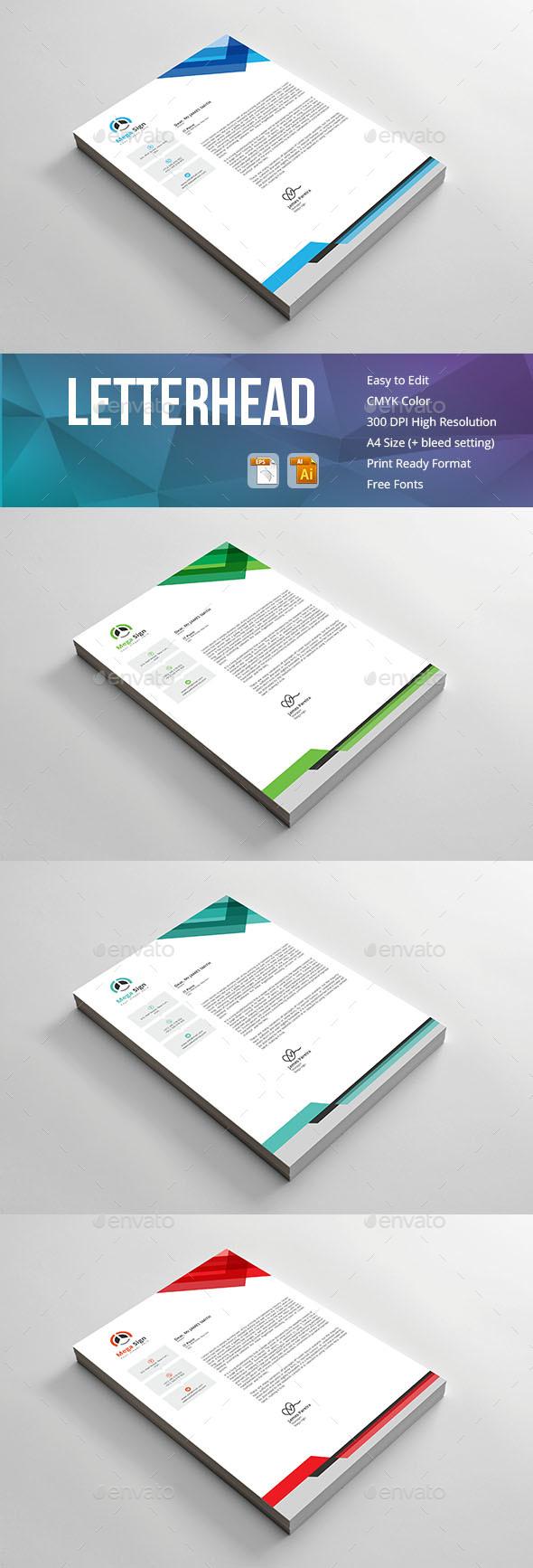 Letterhead - Print Templates