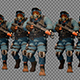 Group Of Equipped Police Officers - VideoHive Item for Sale