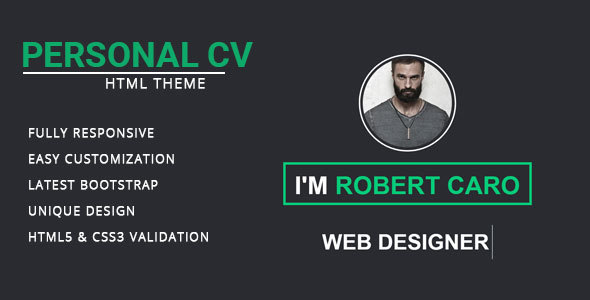Resume/ CV/ vCard & Portfolio - Marketing