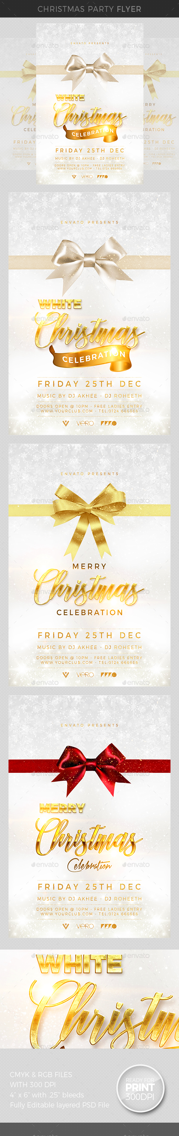GraphicRiver Christmas Party 20995256