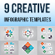 9 Creative Infographic Templates