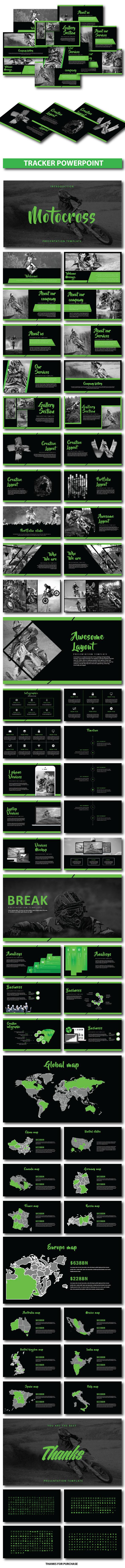 GraphicRiver Tracker Presentation Template 20995522