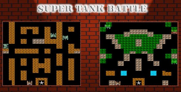 CodeCanyon Super Tank Battle HTML5 game 20995530