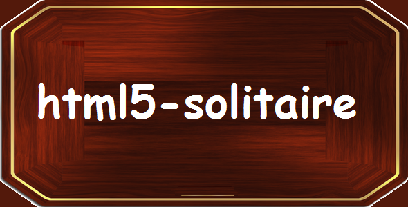 Solitaire HTML5 game - CodeCanyon Item for Sale