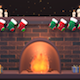 Toon Christmas Fireplace - VideoHive Item for Sale