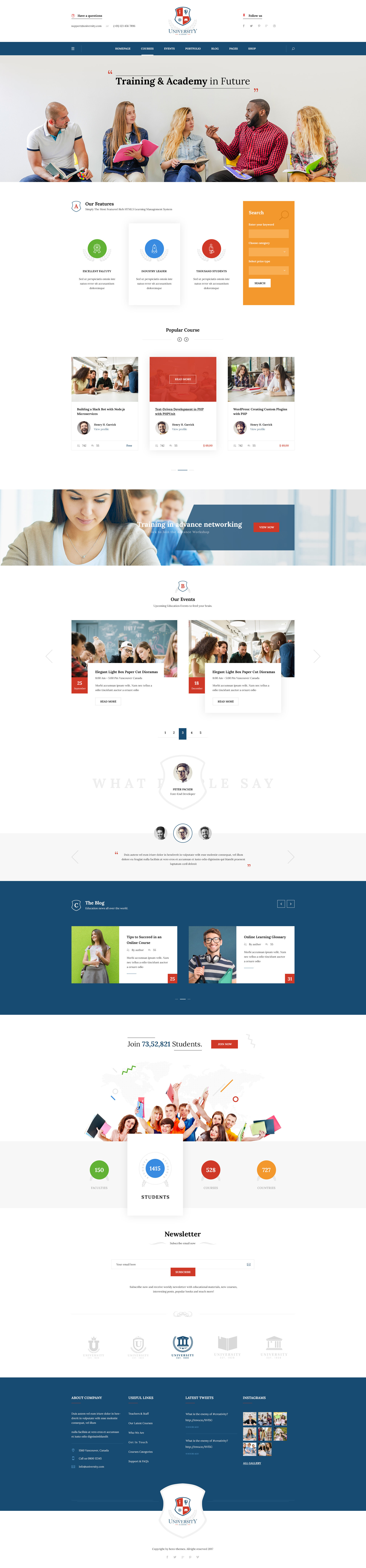 University education course academy psd templates by tivatheme preview05 homepage v5g preview06 homepage v6g preview07 course listg preview08 course gridg preview09 course details fullwidthg reheart Gallery