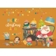 Cartoon Santa Claus with Kids and Gifts - GraphicRiver Item for Sale