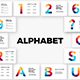 Alphabet Powerpoint Infographic Templates