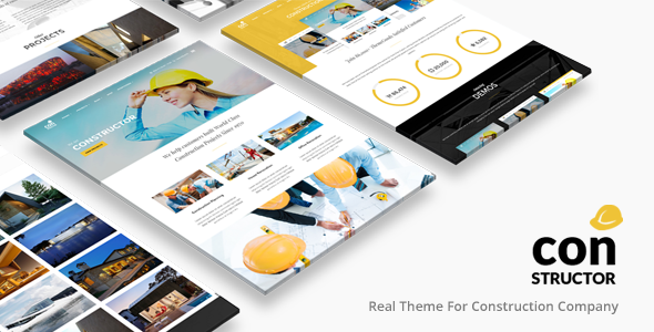 Construction Building Company | Constructor Theme - Business Corporate