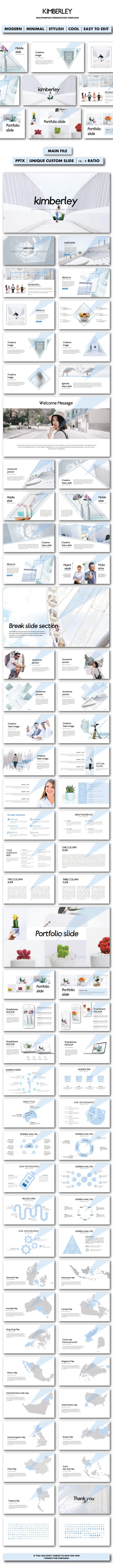 GraphicRiver Kimberley Google Slides Templates 20995810