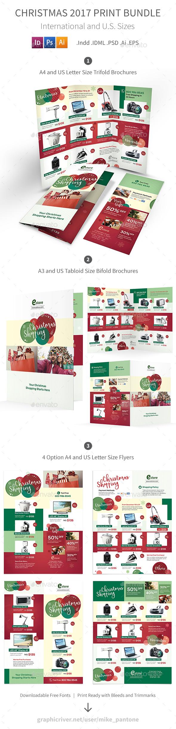 Christmas 2017 Print Bundle - Informational Brochures