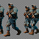 Large Group Of Soldiers In Uniform - VideoHive Item for Sale