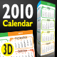 2010 Desktop Calendar - GraphicRiver Item for Sale