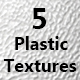 5 Realistic Plastic Tileable Textures - 3DOcean Item for Sale