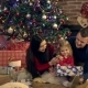 Parents Give Gifts a Daughter for Christmas - VideoHive Item for Sale