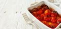Roasted cherry tomatoes casserole