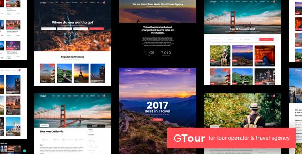 Grand Tour   Tour Travel WordPress - Travel Retail