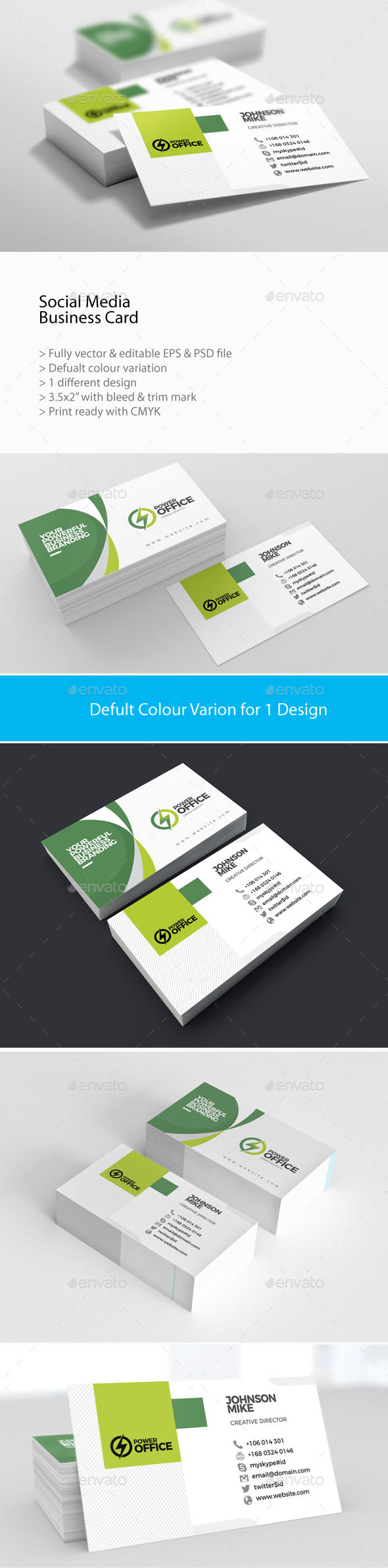 GraphicRiver Corporate Business Card 20996839