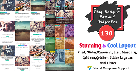 Blog Designer - Post and Widget Pro - CodeCanyon Item for Sale
