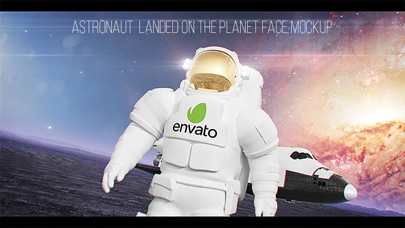 VideoHive Astronaut Landed on the Planet 20961919