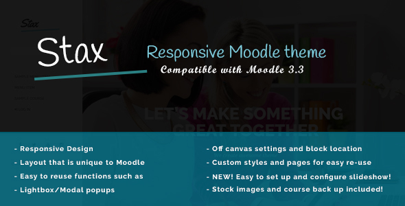 ThemeForest Stax Build a Better Moodle 20861336