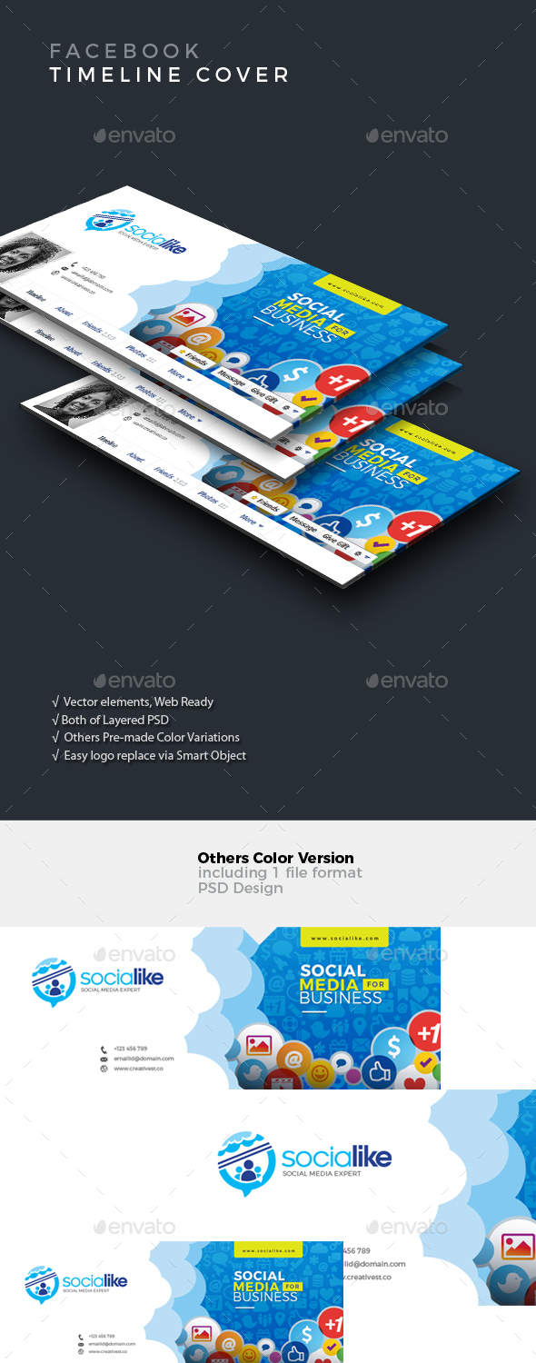 GraphicRiver Facebook Timeline Cover 20997054