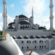 3D Aerial View of Mosque - VideoHive Item for Sale
