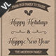 Christmas Greeting Postcard V02 - GraphicRiver Item for Sale
