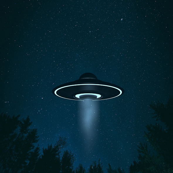3DOcean UFO Alien Flying Saucer 20997475