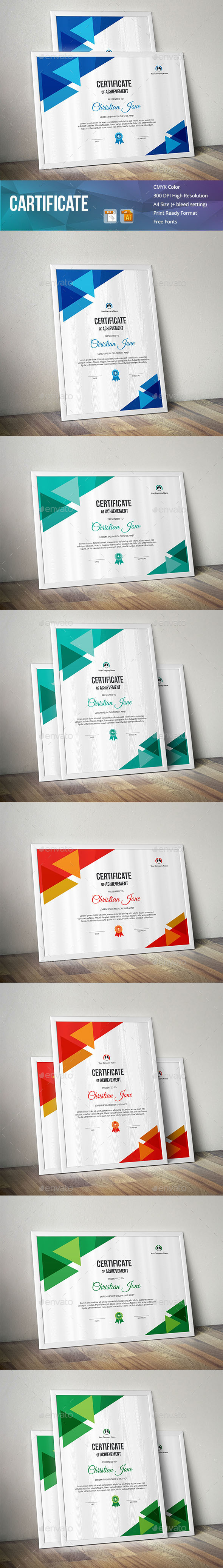 GraphicRiver Cartificate 20982512
