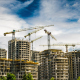 Building a House with Six Cranes - VideoHive Item for Sale