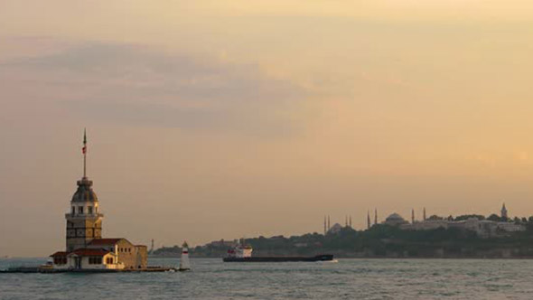 VideoHive Istanbul Maiden Tower 20342583