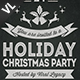Merry Christmas Poster / Flyer V14 - GraphicRiver Item for Sale
