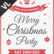 Merry Christmas Poster / Flyer V15 - GraphicRiver Item for Sale