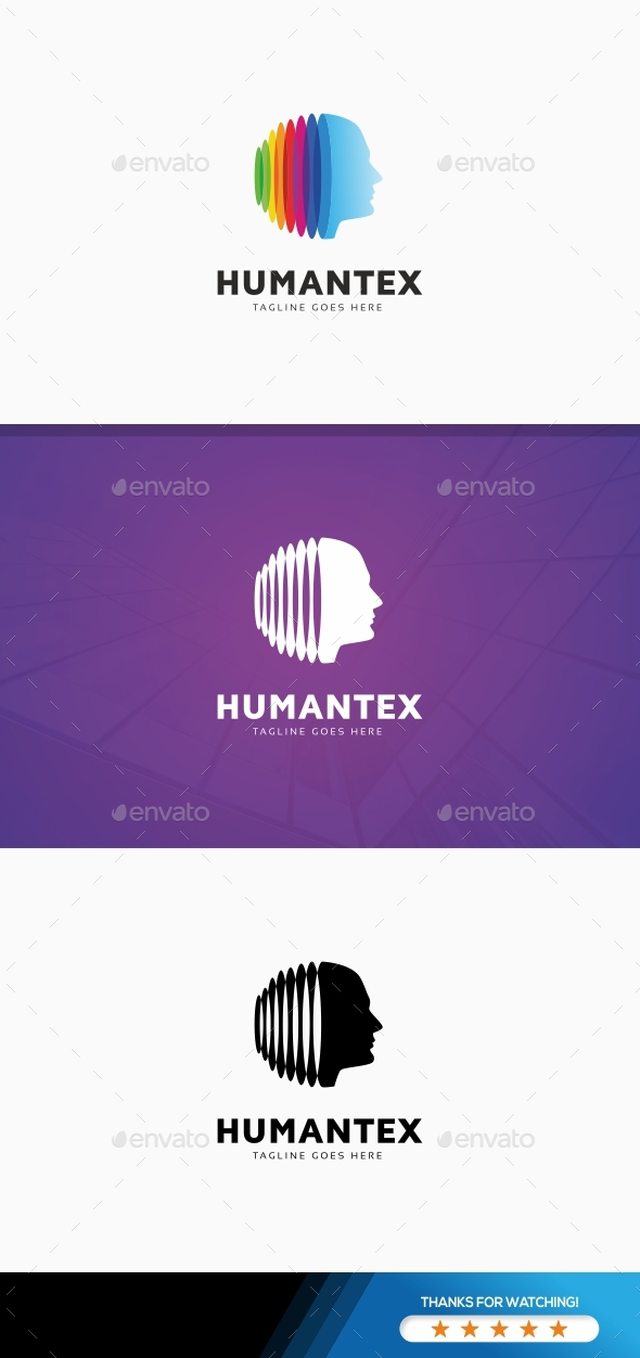 GraphicRiver Human Technology Logo 20997751