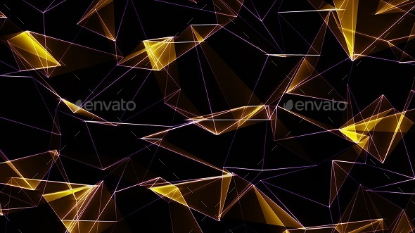 GraphicRiver Cinematic Low Poly Tech Background 20997783
