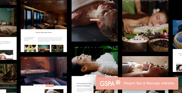 Grand Spa   Beauty Massage WordPress - Health & Beauty Retail