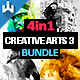 Creative Arts Photoshop Action Bundle v3