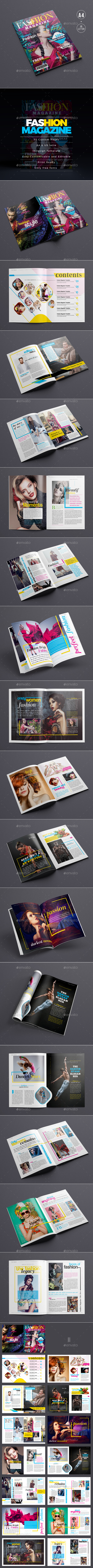 GraphicRiver Fashion Magazine 20998034