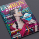 Fashion Magazine - GraphicRiver Item for Sale