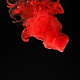 Red Ink Splash on Black Background - VideoHive Item for Sale