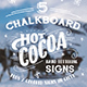 Hot Cocoa Chalkboard Signs Set - GraphicRiver Item for Sale