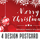 Christmas 4 Postcard Bundle